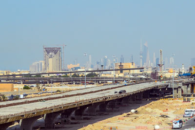Jahra main road line