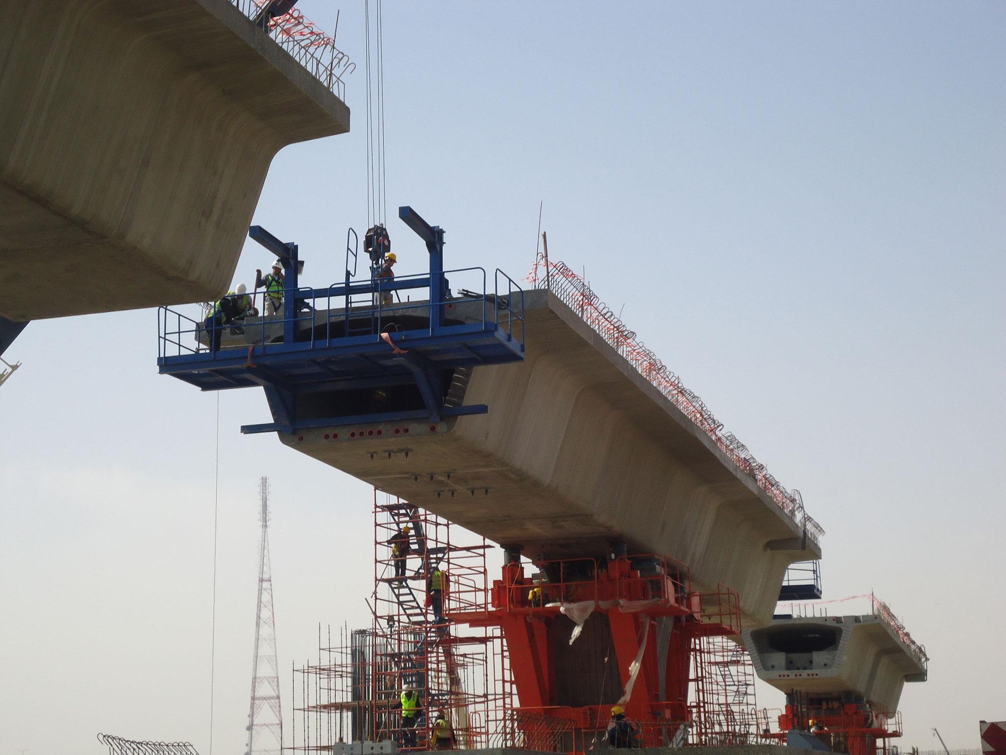 Segmental Balance Cantilever Bridge Jre